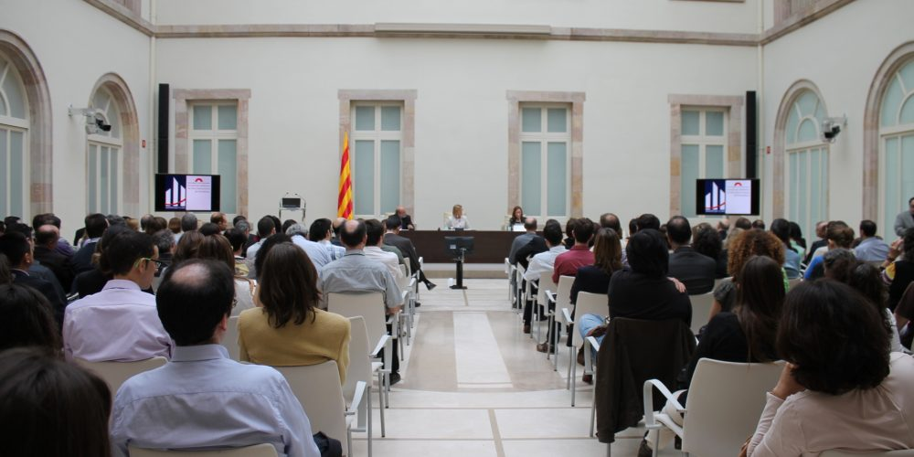 L'Any Internacional de l'Estadística al Parlament de Catalunya